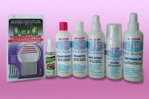 All In One Lice Treatment Package
