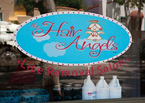 The Hair Angels Logo